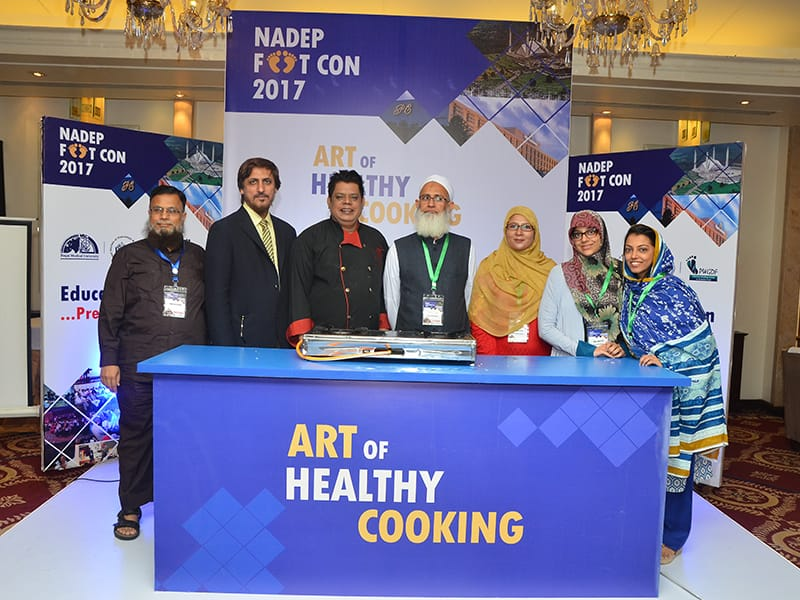 Health cooking workshop in the IDF Middle East and North Africa Region