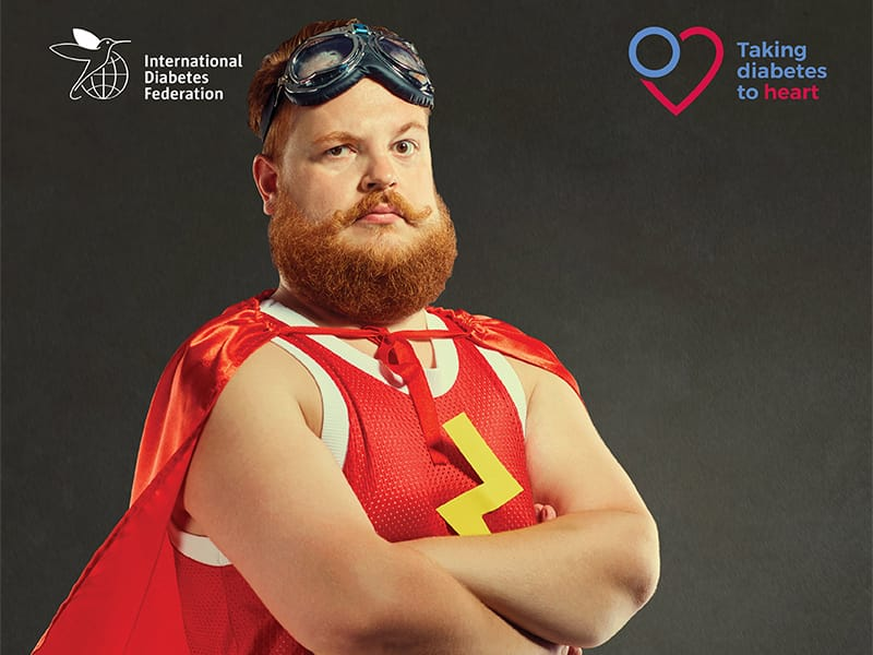 Taking Diabetes to Heart study promotional visual