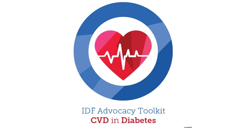 IDF Advocacy Toolkit on CVD and Diabetes cover