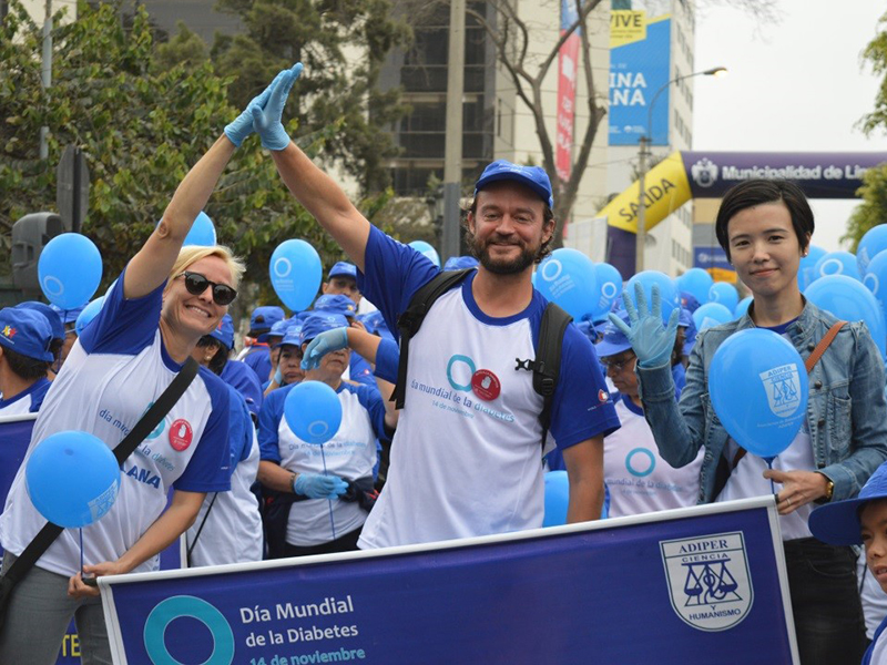 Global Diabetes Walk in Peru