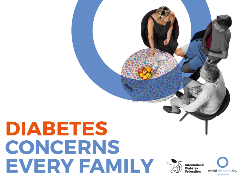 Diabetes concerns every family
