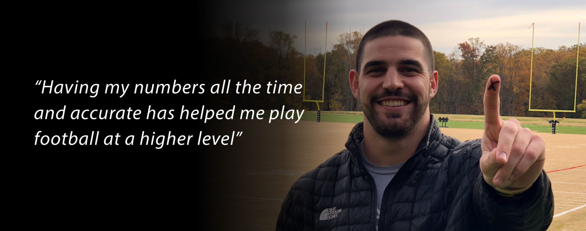 Mark Andrews with quote