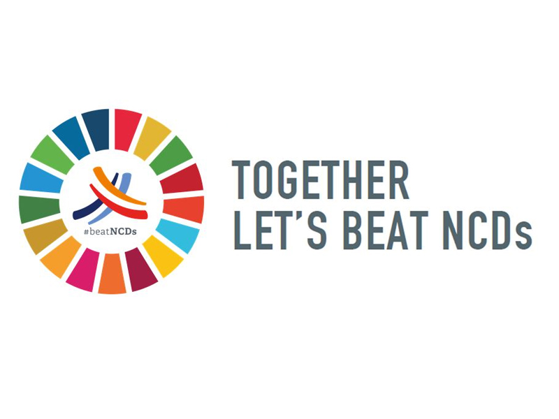 Together Let's Beat NCDs logo