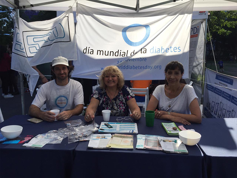 Awareness activity in Argentina