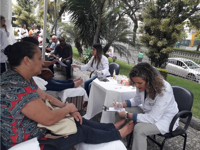 Foot screening in Brazil