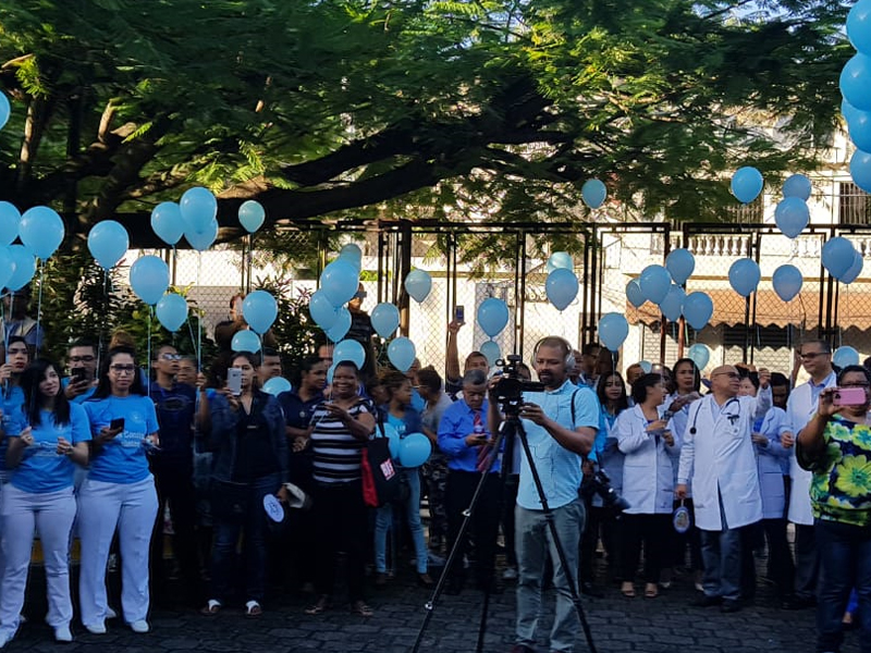 Awareness activity in the Dominican Republic