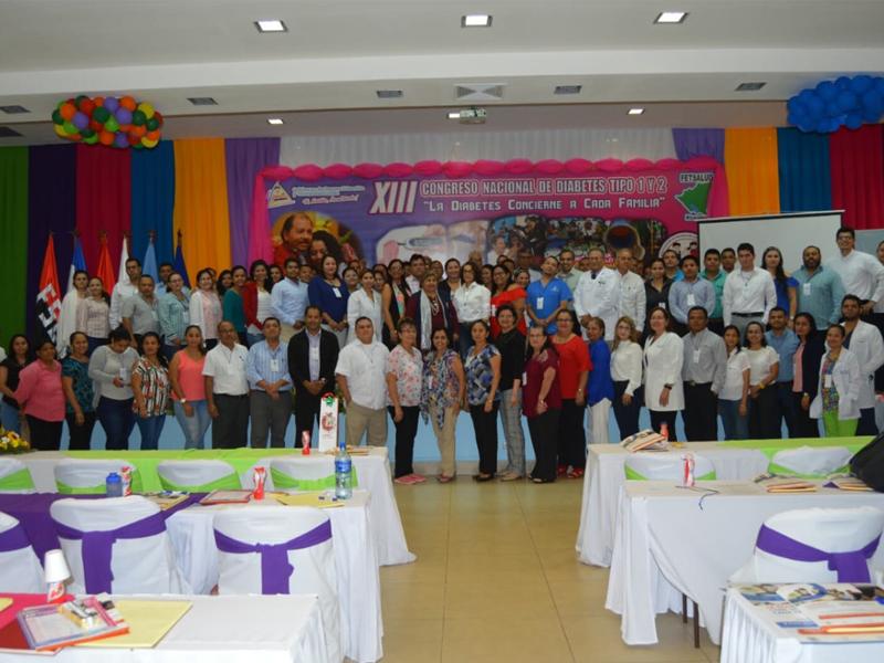 Diabetes congress in Nicaragua