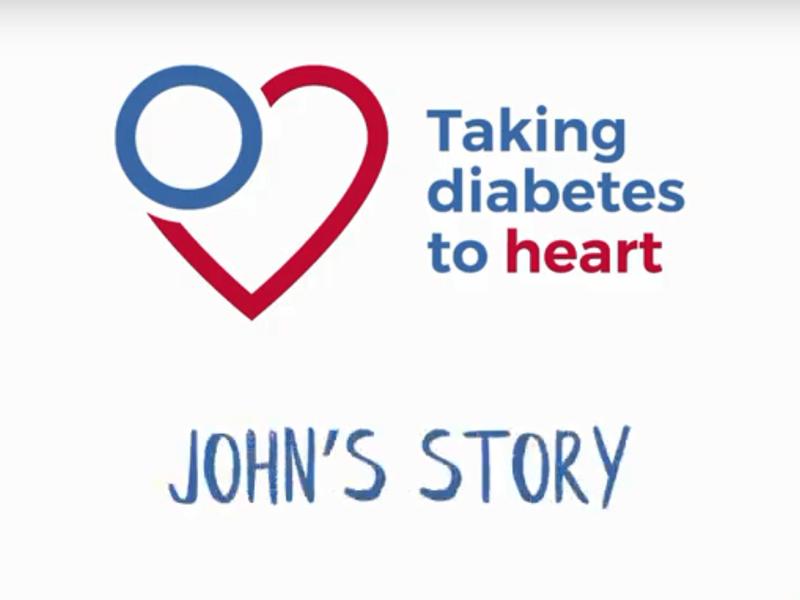 John's story screen