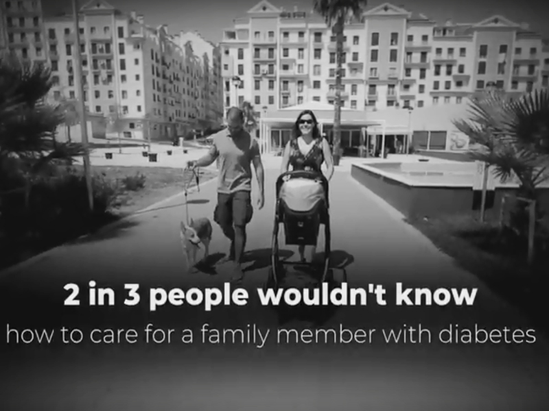 Video capture Living with Diabetes
