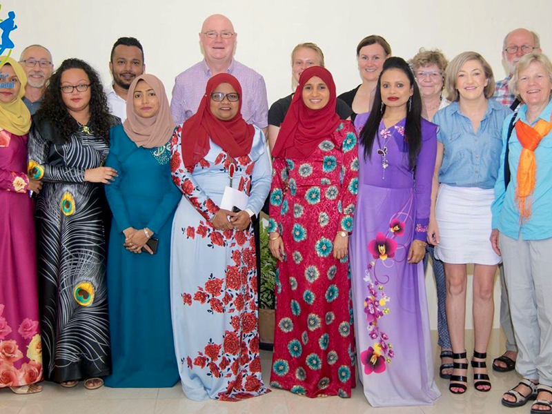 Picture of DiabMaldives 2018 faculty
