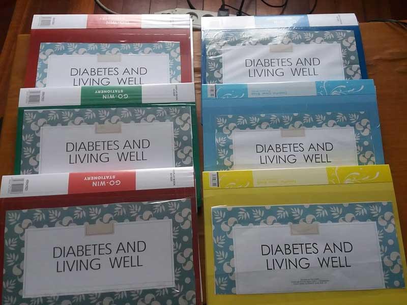 Diabetes awareness materials