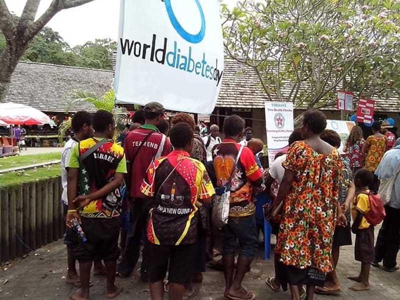 World Diabetes Day awareness activity